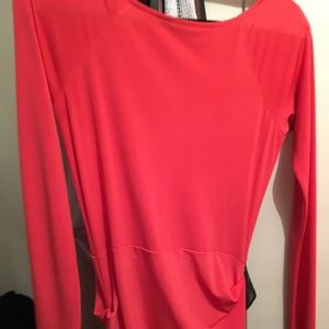 Red Orange Rachel Roy Dress